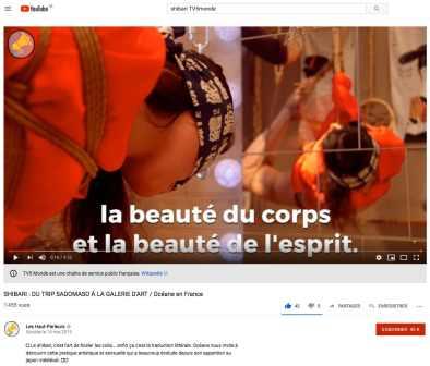 Découvrez le shibari de Seb Kinbaku et Malice en plein coeur de Paris au Kinbaku Nest