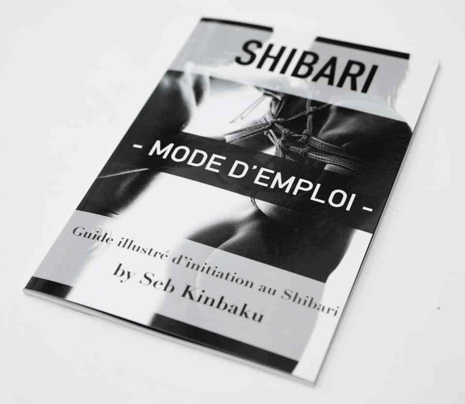 Photo du guide de shibari par Seb Kinbaku