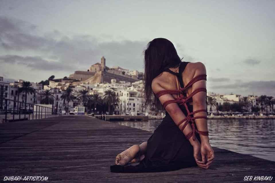 Strappado sur le port d'Ibiza
