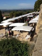 The outside vendors market! Photo courtesy of Catharine Ellis