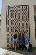 Guo Jiang, our WSN Intern with Yoshiko Wada and our office manager Carol Nakaso. Photo by Sarah Chu.