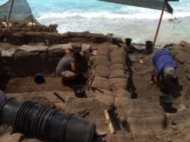 Excavation underway at Tel Dor
