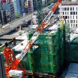 東急東横店東館タワー建設