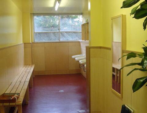 北棟1階トイレのパウダールーム化