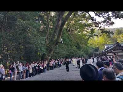 伊勢神宮で、高円宮絢子さまの「結婚報告」に遭遇