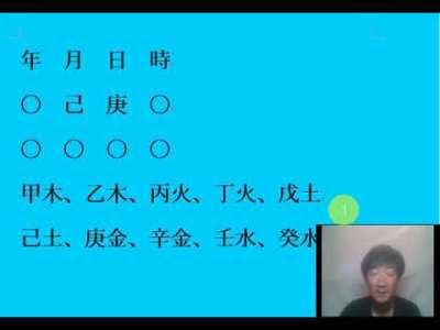四柱推命入門ビデオ24(干関係、庚金~辛金)