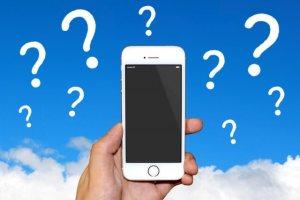 iPhoneで原因不明の不具合発生時のイメージ