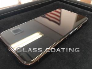 ガラスコーティングされたiPhoneXS Max