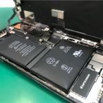 iPhoneXのバッテリー交換