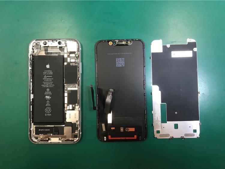 iPhoneXR画面修理