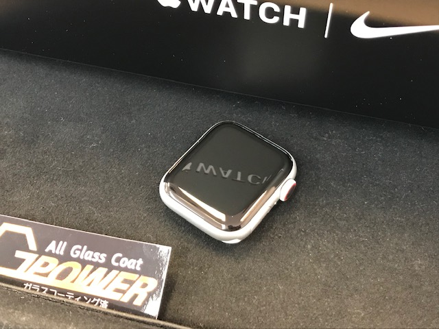 AppleWatch Nike Series5 ガラスコーティング