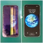 iPhoneXR液晶不良による画面修理
