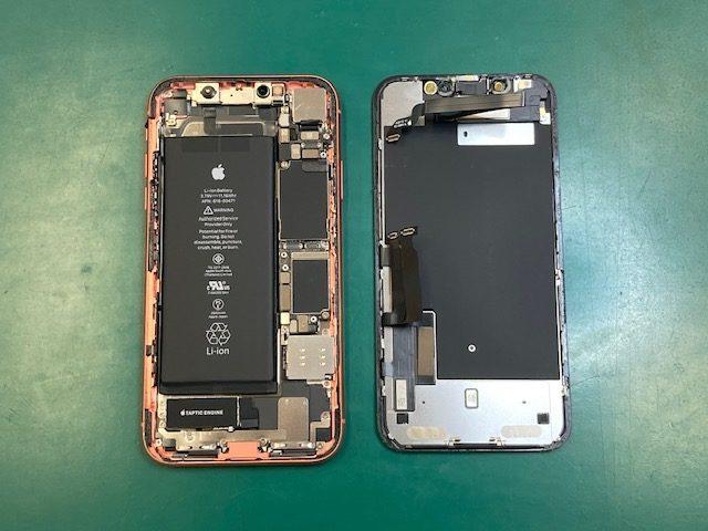 iPhoneXRの修理