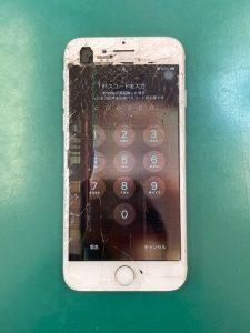 iPhone7の画面破損