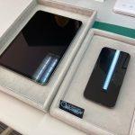 iPadProとiPhone12ProMaxをガラスコーティング