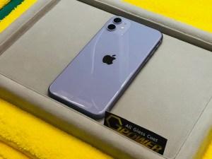 iPhone11をガラスコーティング