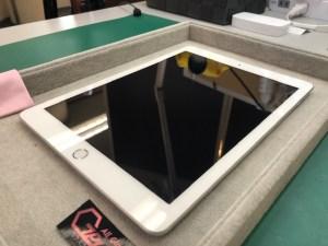iPad5をガラスコーティング