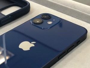 iPhone12miniをガラスコーティング