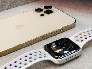 iPhone12ProMaxとAppleWatch6をガラスコーティング