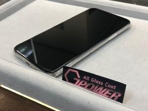 iPhone11Proをガラスコーティング