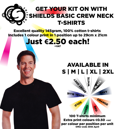 Shields T-Shirt Offer 1