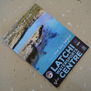 Latchi Watersports Flyer printed by Shields