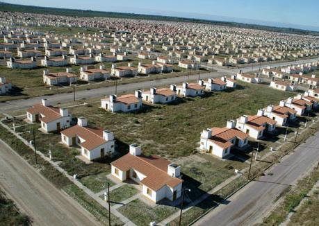 Quartier Santiago de Estero, l'un des développements du Programa Federal de Vivienda. Source: skyscrapercity.com