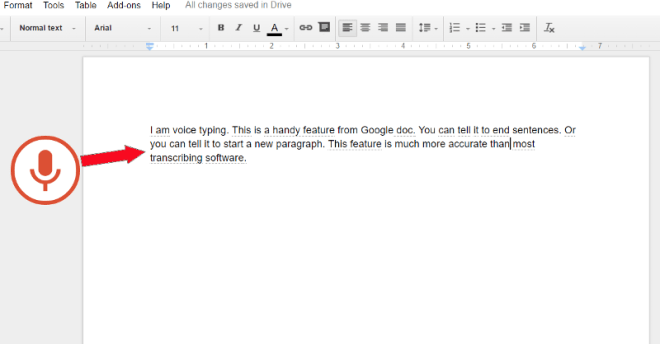 Newco Shift This Voice Typing Tool In Google Docs Can Save You A - Start a new google doc