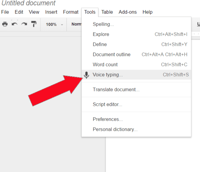 Newco Shift This Voice Typing Tool In Google Docs Can Save You A