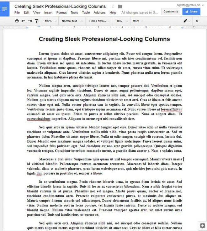 Newco Shift Create Sleek Professional Looking Newsletter Type