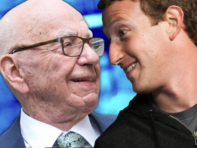 Murdoch to Zuckerberg: Hey Buddy, Can You Spare Some Change?