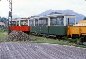 Oryginalna, zielona doczepa KSW zGrazu wzbiorach muzeum wMariazell wlatach '80