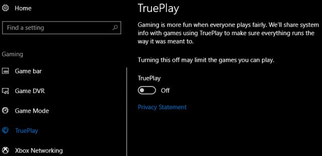 windows 10 trueplay