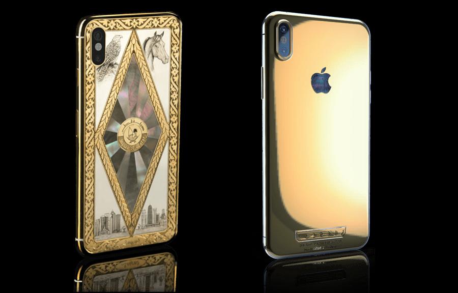 Elmaslarla süslenmiş iPhone X karşınızda!