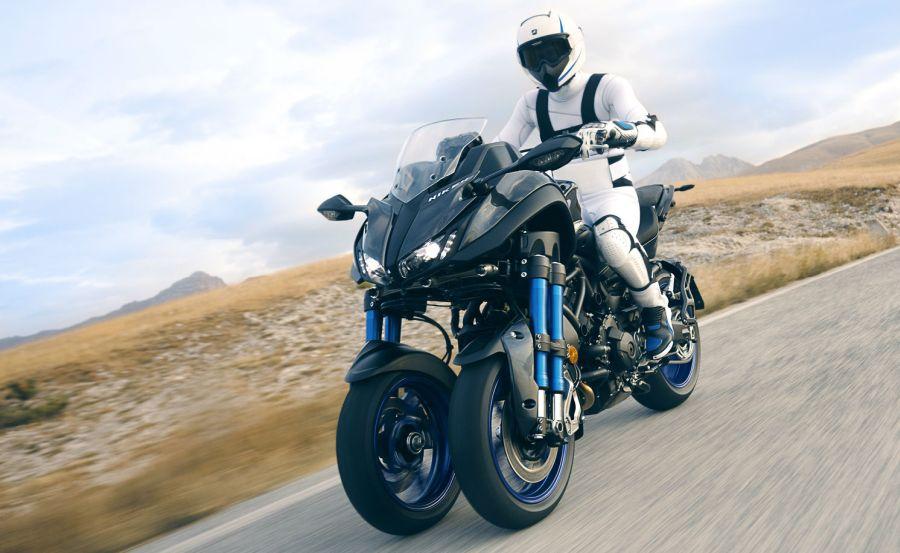 Geleceğin motorsikleti Yamaha Niken!