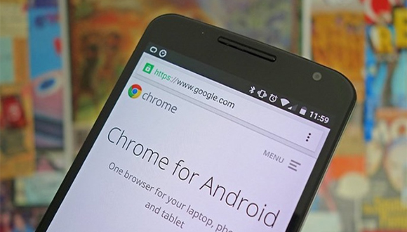 Chrome Android P