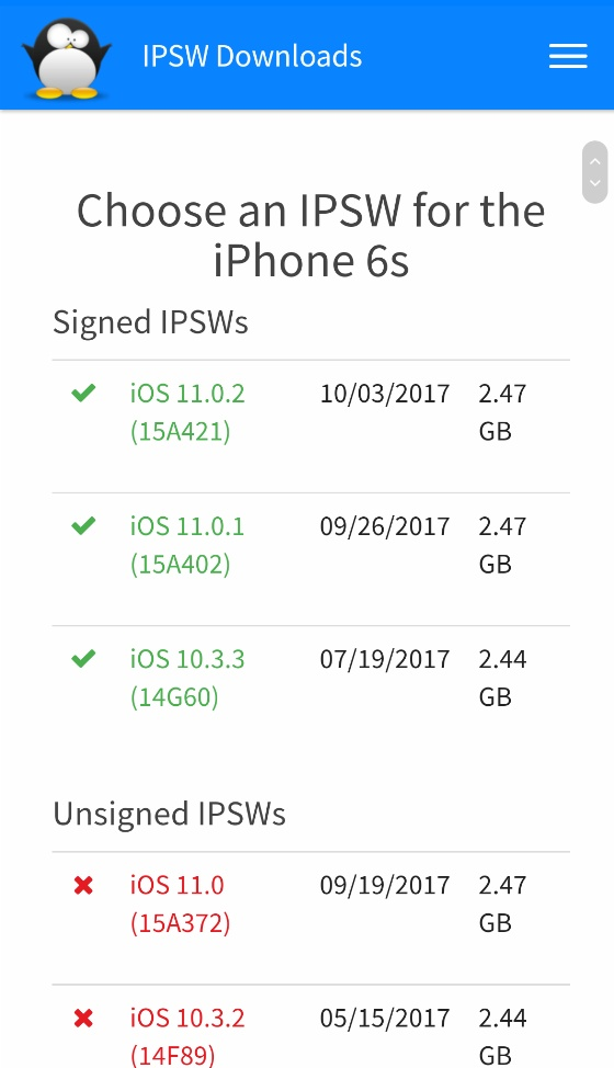 iPhone 6s iOS 10.3.3