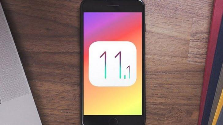 iOS 11.1 çıktı!
