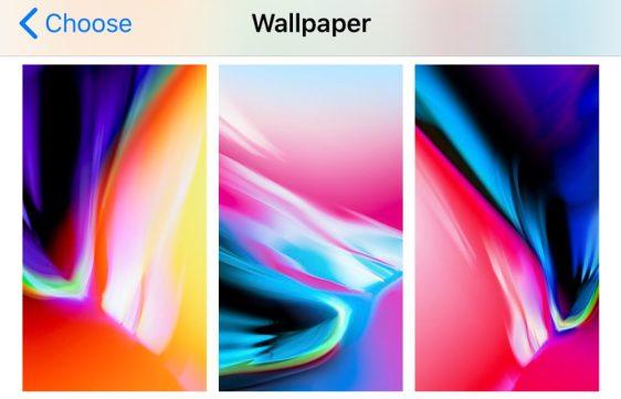 iOS 11.2 - Duvar Kağıtları