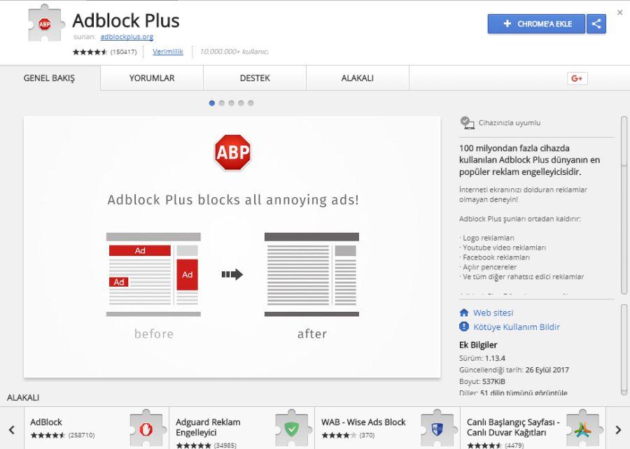 Sahte Adblock Plus