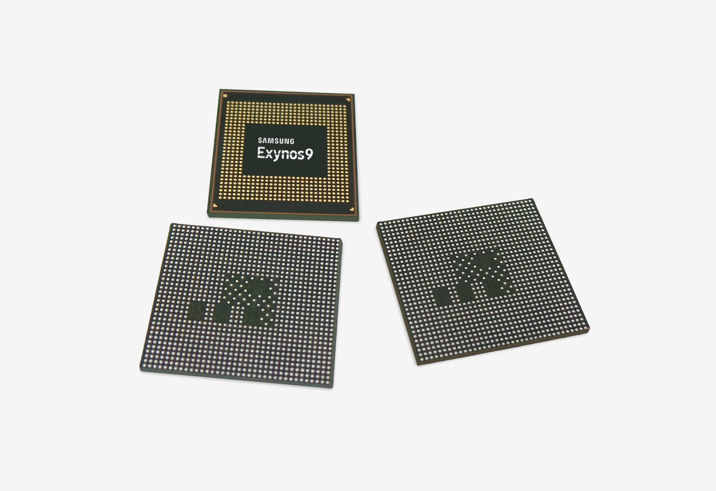 Galaxy S9 işlemcisi Exnos 9810