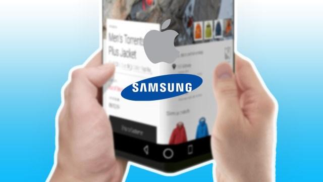 Apple ve Samsung'un katlanabilir telefon rekabeti!