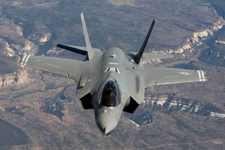 Eurasia Airshow 2018 F-35