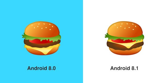 hamburger emojisi