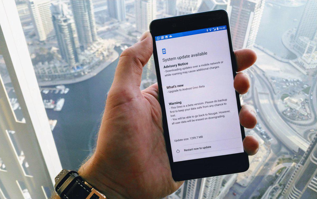 Nokia 6 için Android Oreo