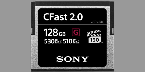 Sony G CFast 2.0
