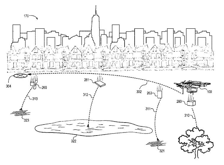 Amazon - kendini imha edebilen drone