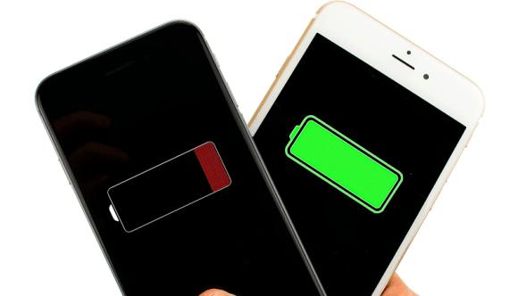 iPhone batarya