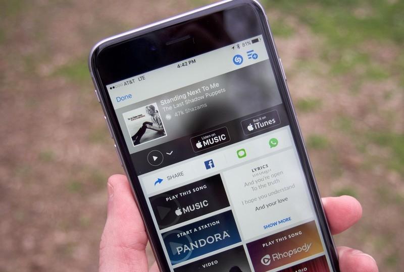 Shazam - iPhone