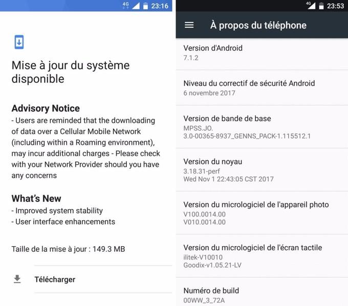 Nokia 6 için yeni güncelleme
